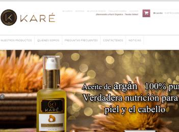 Diseño tienda online productos belleza