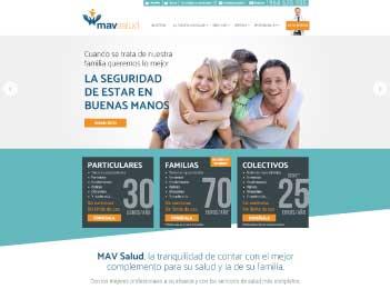 Diseño pagina web aseguradora