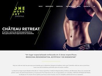 Diseño pagina web clinica