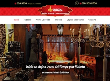 Diseño y posicionamiento web tienda oriental