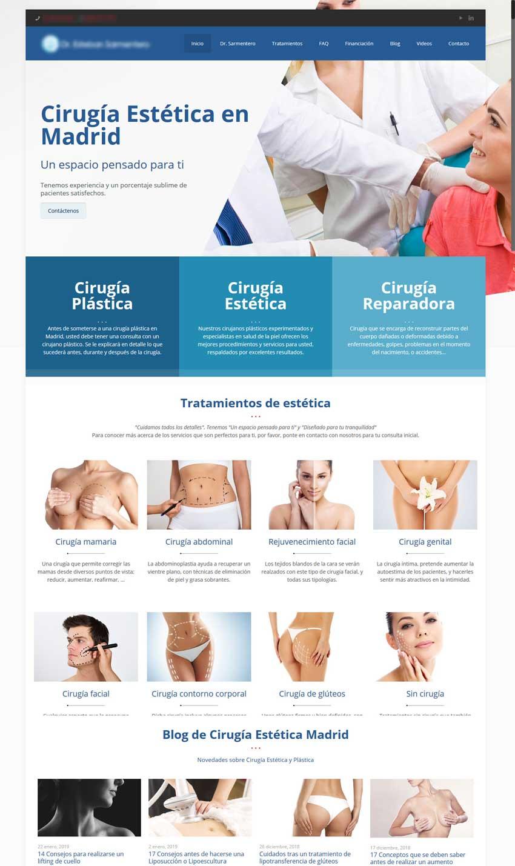 Diseño y posicionamiento web clinicas esteticas