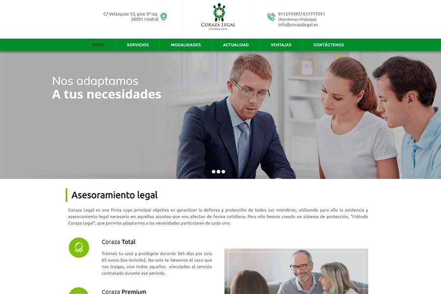 Diseño web y posicionamiento web legal