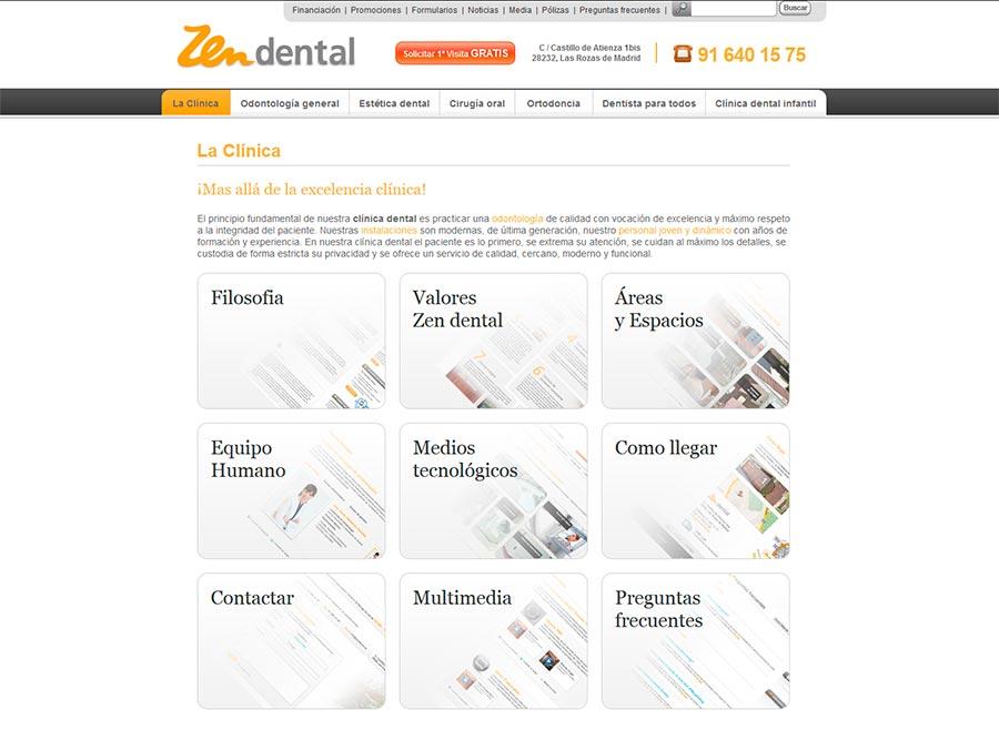 Posicionamiento web clinicas dentales