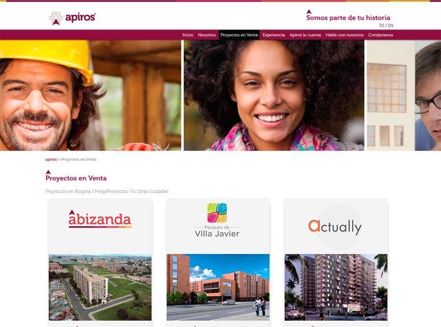 Diseño y posicionamiento web de empresa constructora