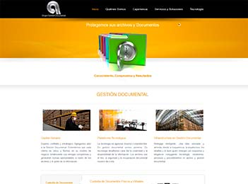 Posicionamiento web empresa gestion documentos