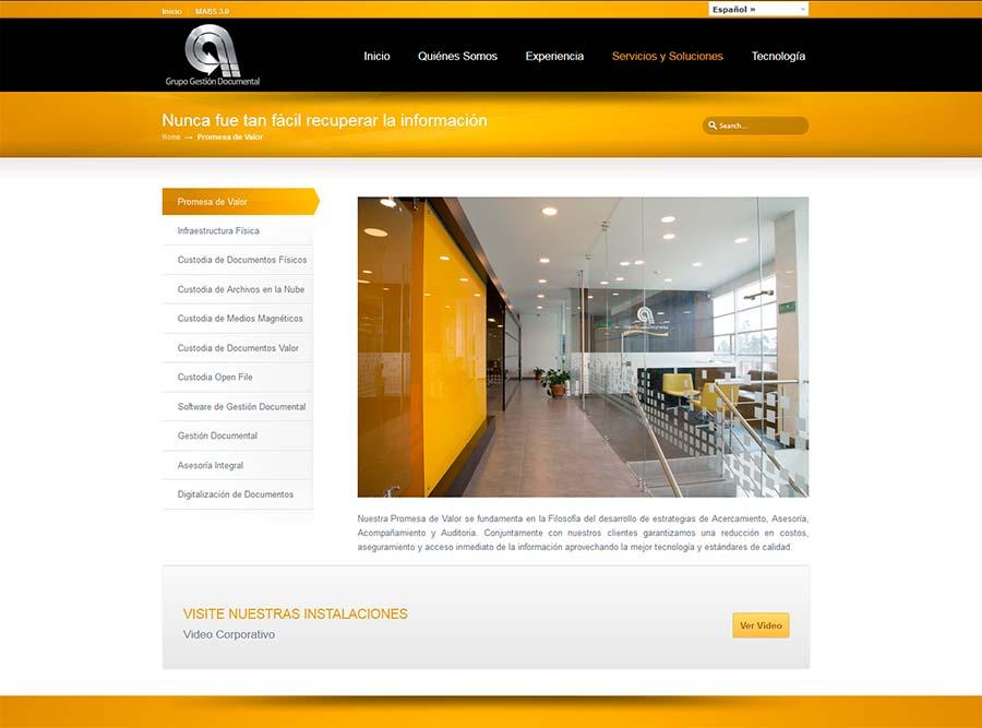 Posicionamiento SEO de empresas de gestion documental