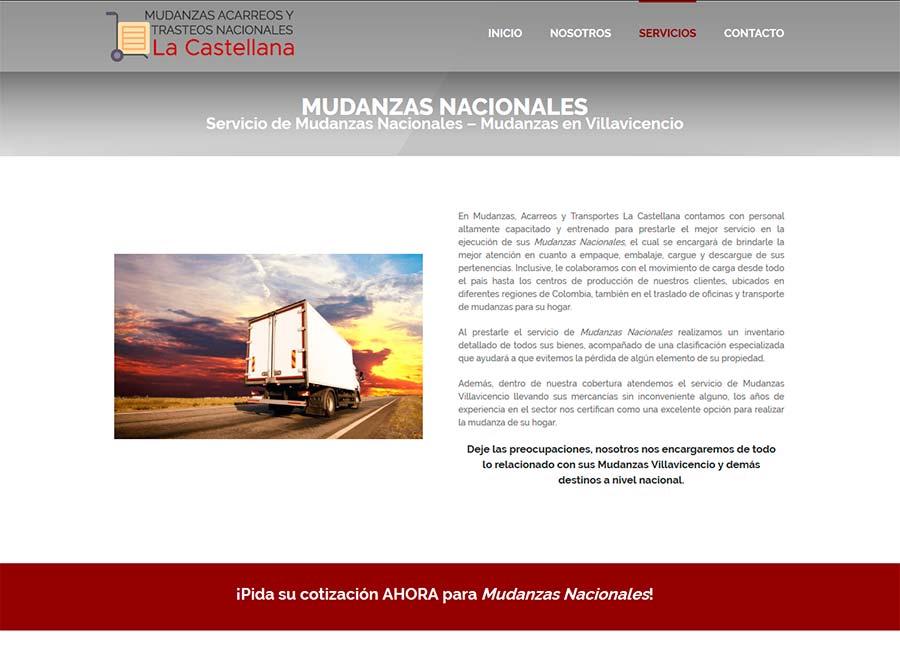 Posicionamiento web de empresas de mudanzas y transportes