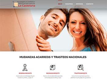 Diseño web y posicionamiento web empresa mudanzas y transporte
