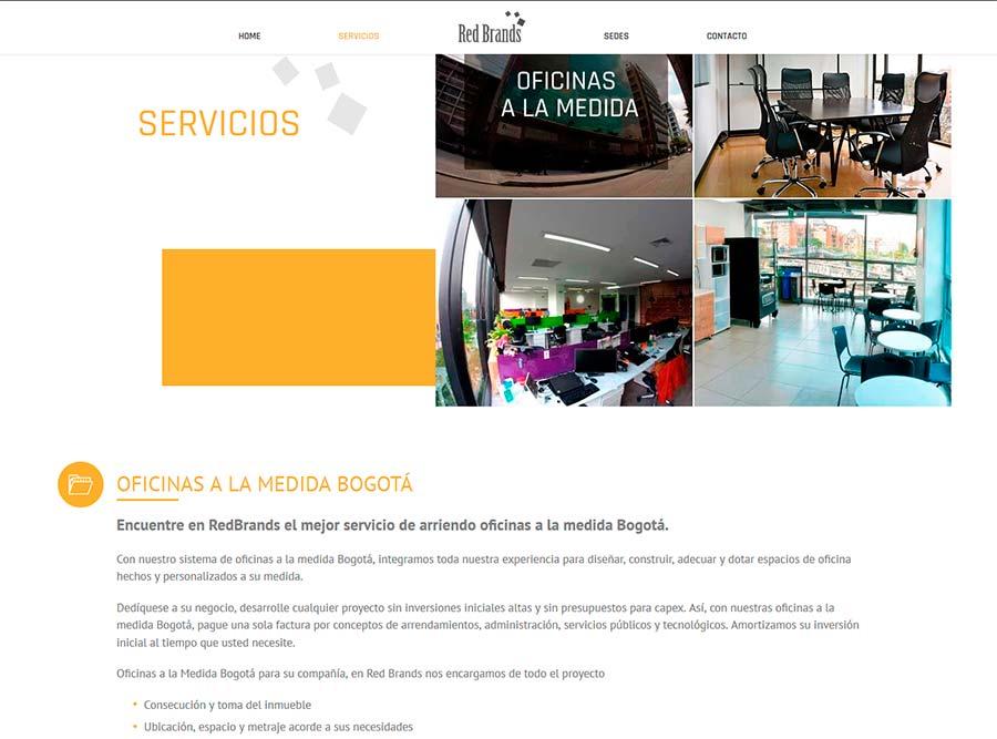 Diseño web y posicionamiento de empresas de alquiler de oficinas