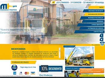Posicionamiento web empresa transportes y mudanzas